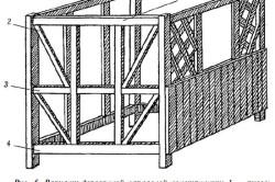 Схема каркаса деревянной беседки