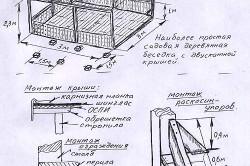 Схема монтажа садовой деревянной беседки.