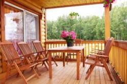 Деревянная мебель для терассы